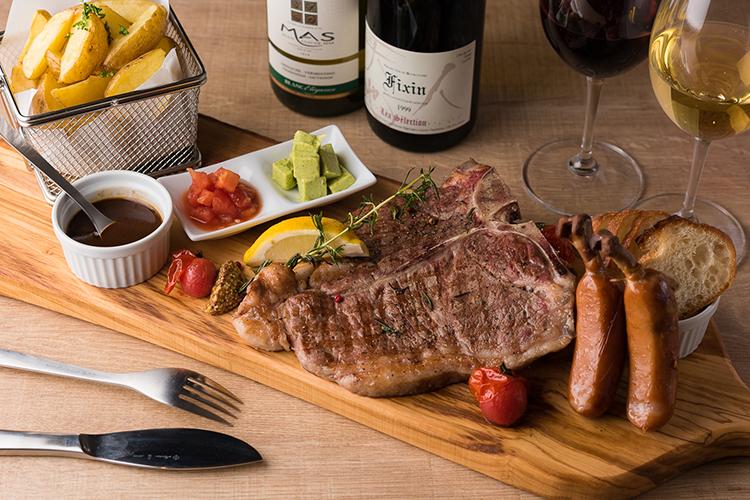 steak ステーキ moonlight 枚方 ビオルネ